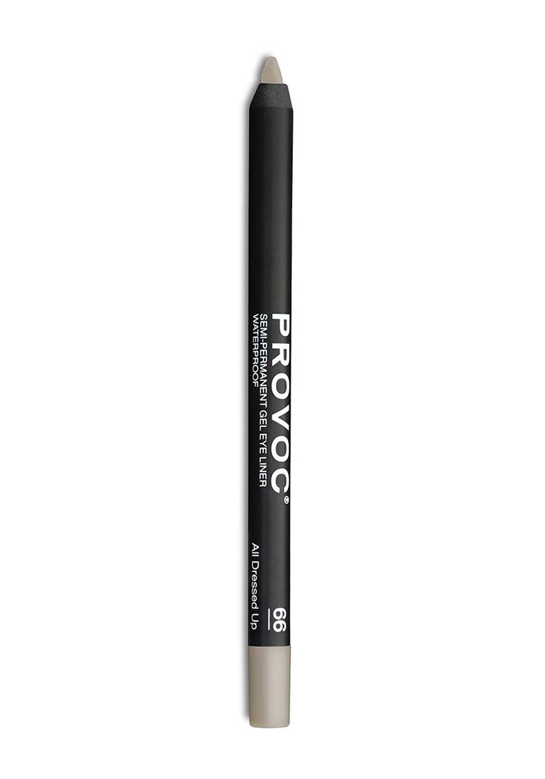 Provoc 353-0030 Semi-Permanent Gel Eye Liner Waterproof Pencil No.66 All Dressed Up قلم محدد العيون
