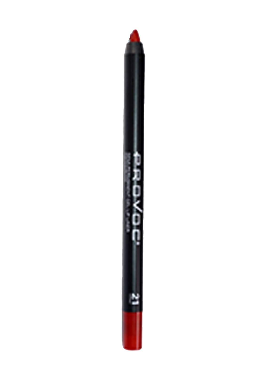 Provoc 353-0033 Semi Permanent Gel Lip Liner Pencil No.12 Bombshell  محدد الشفاه