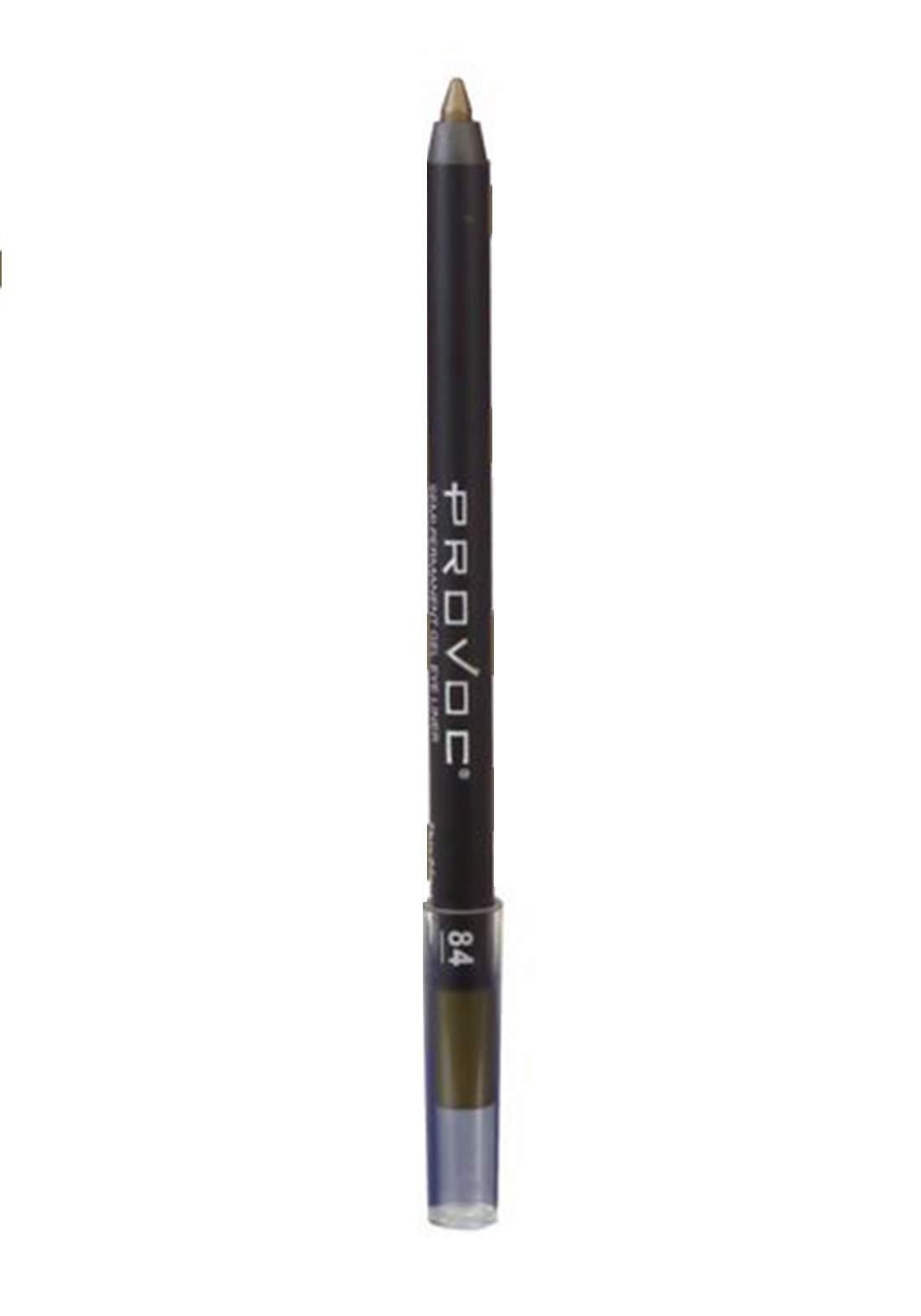 Provoc 353-0042 Semi-Permanent Gel Eye Liner Pencil No.84 This Means War قلم محدد العيون