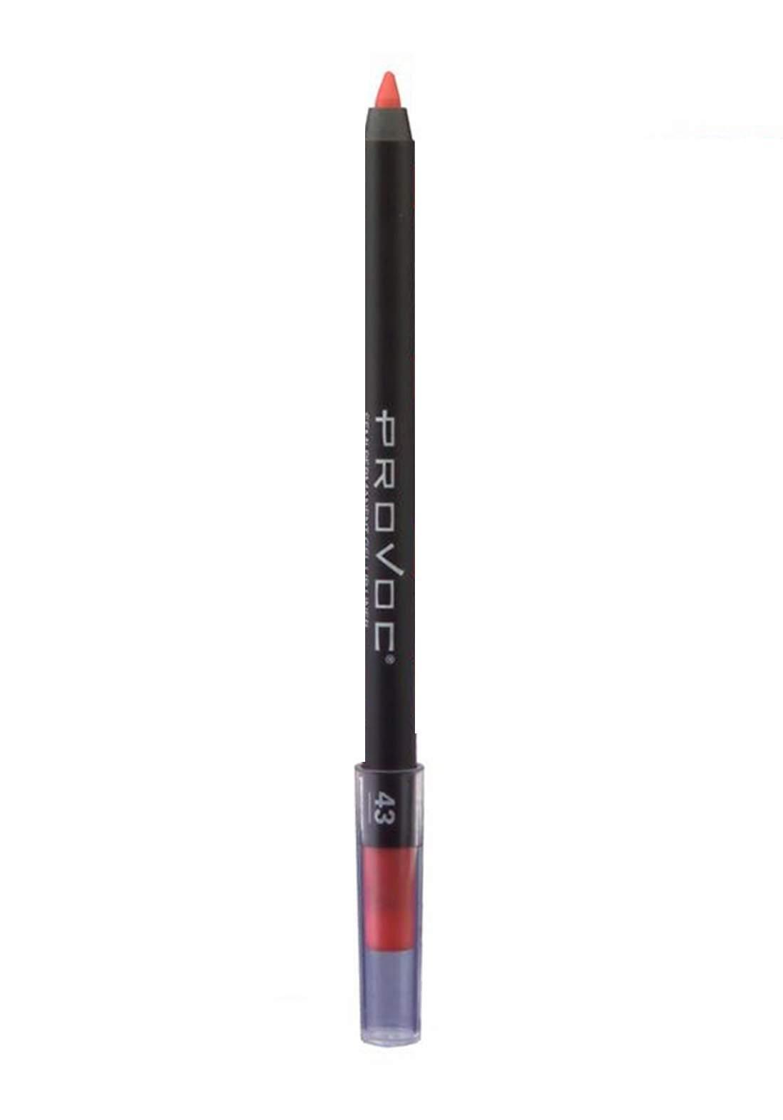 Provoc 353-0051 Semi Permanent Gel Lip Liner Pencil No.43 محدد الشفاه