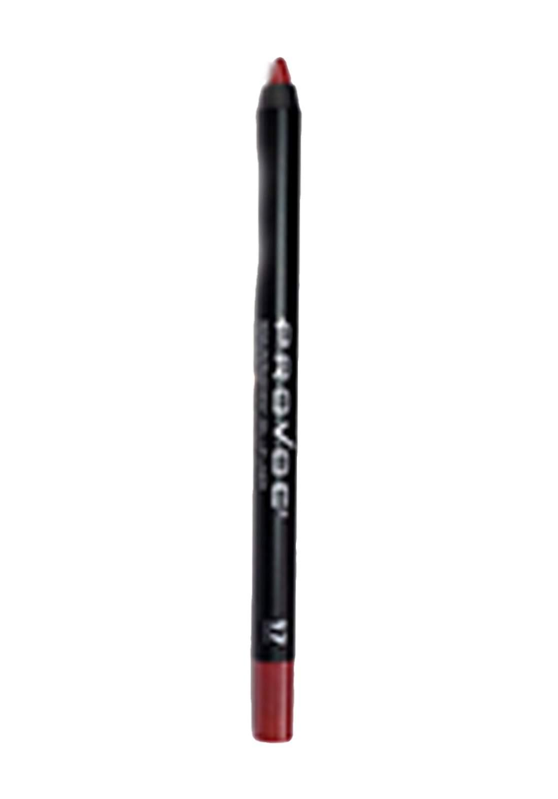 Provoc 353-0067 Semi-Permanent Waterproof Gel Lip Liner Pencil No.17 Vintage Rose محدد الشفاه