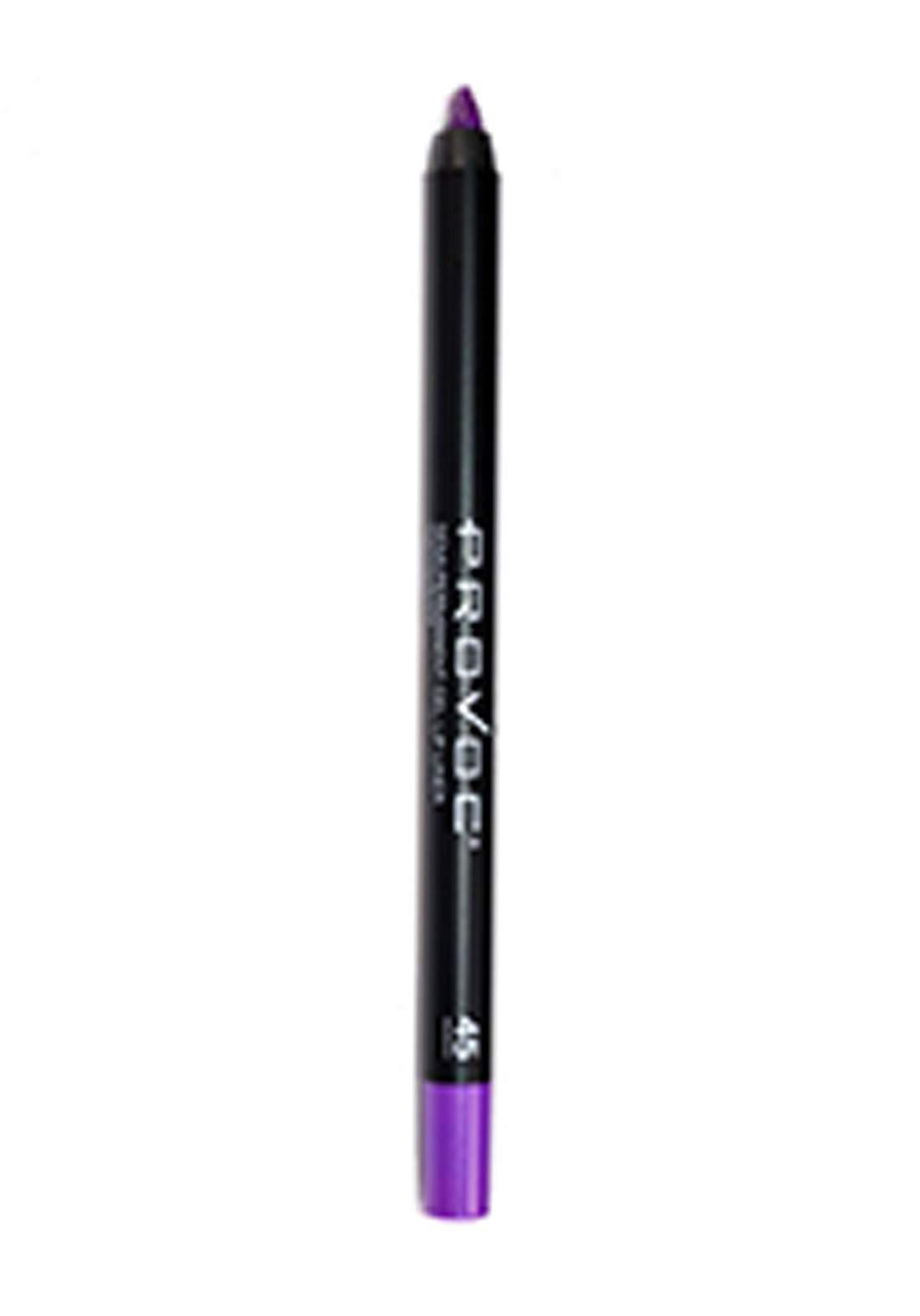 Provoc 353-0068 Semi-Permanent Gel Lip Liner Pencil No.45 محدد الشفاه