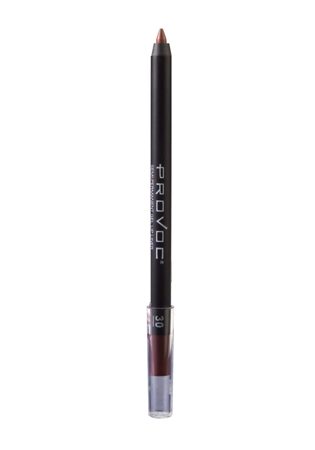 Provoc 353-0079 Semi-Permanent Gel Lip Liner Pencil No.30 Desired محدد الشفاه