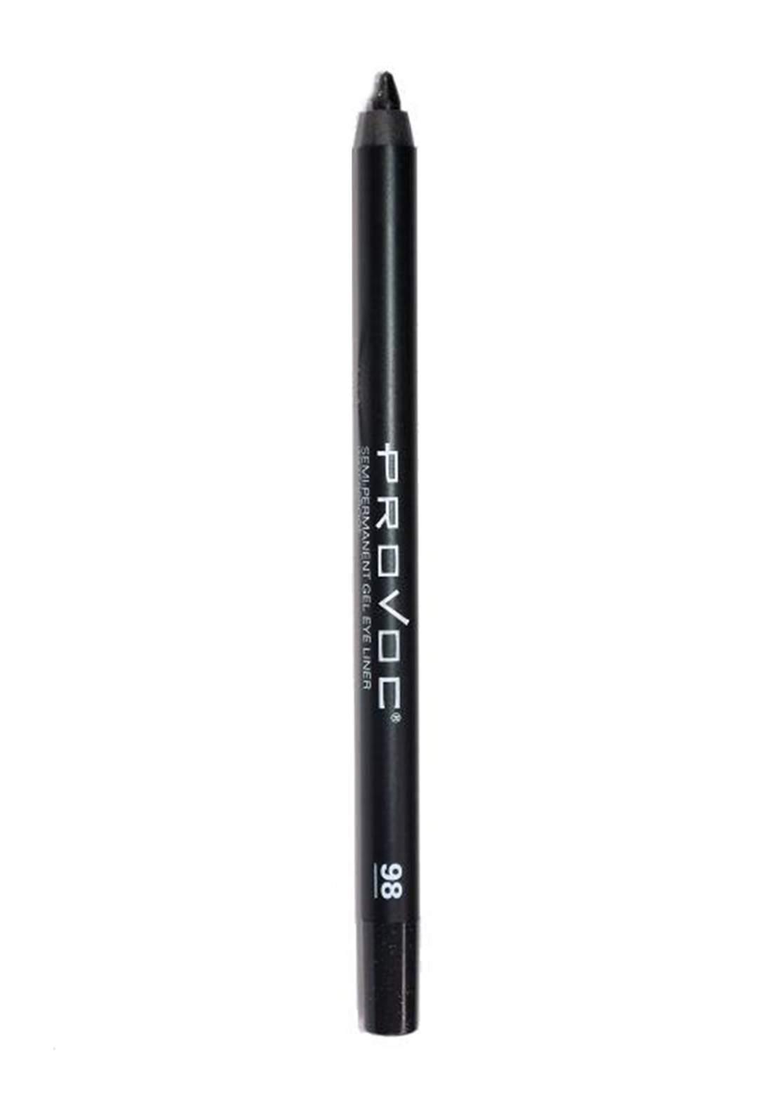 Provoc 353-0081 Semi-Permanent Gel Waterproof Eyeliner No.98 Mischevious قلم محدد العيون