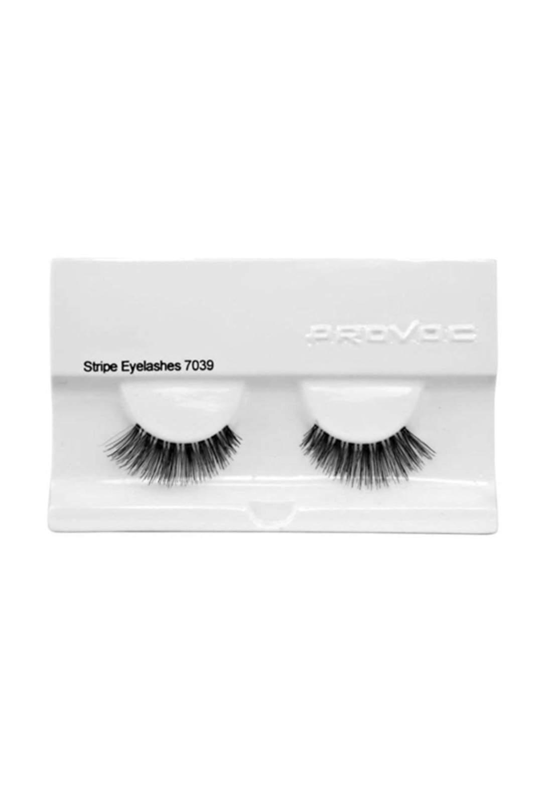 Provoc 353-0095 Stripe Eyelashes No.7039 رموش