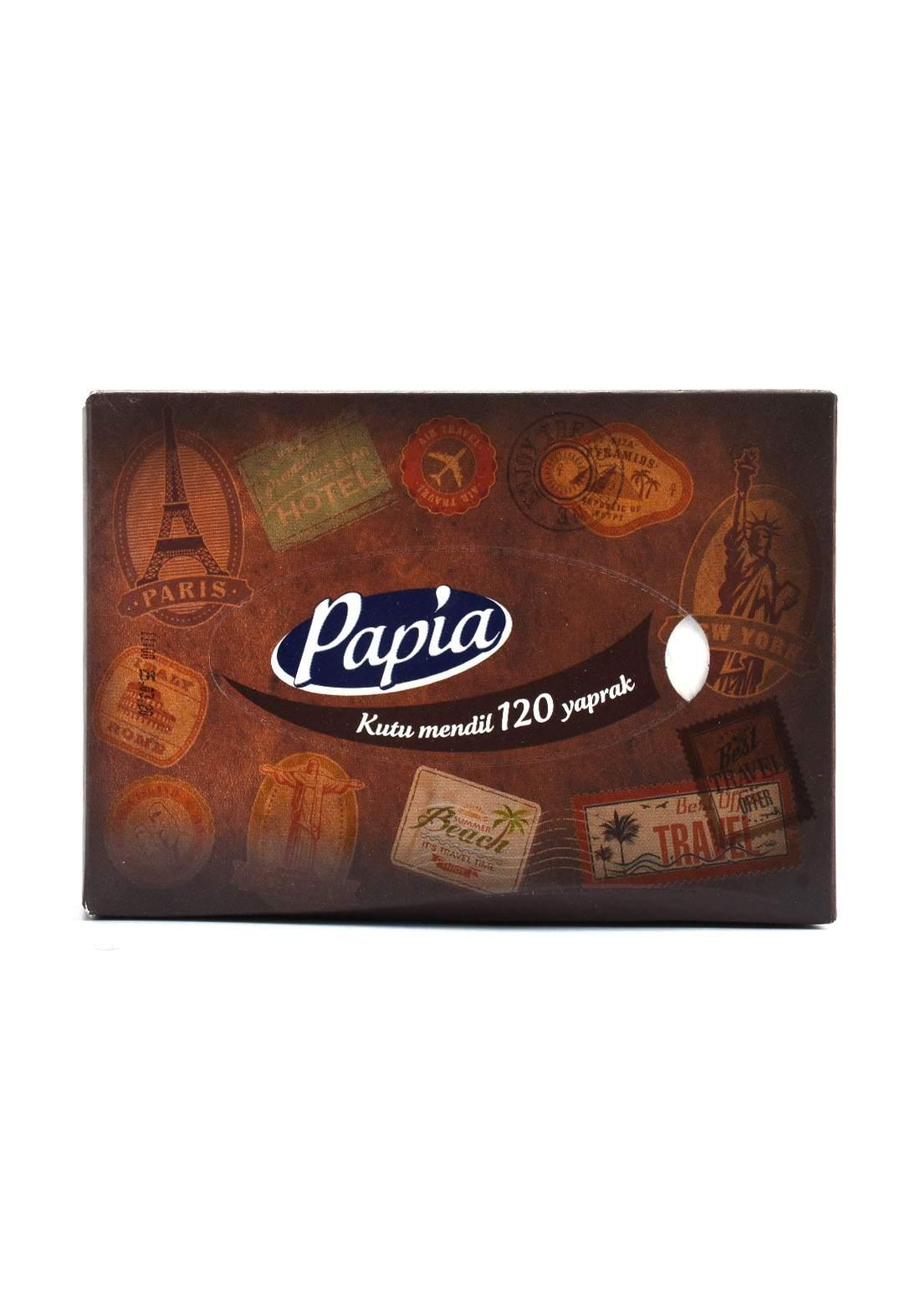 Papia Tissue Paper 120 Sheets  مناديل ورقية