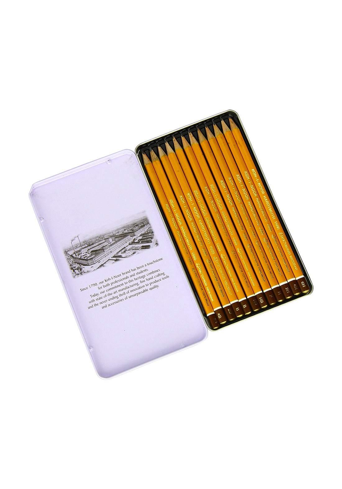 Koh-I-Noor Set Of Graphite Pencils 12 سيت أقلام رصاص كرافيت 12 قلم