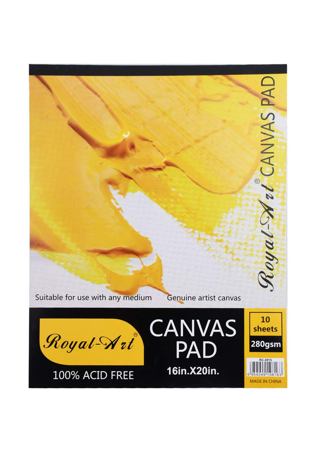 Royal-art Canvas Pad 10 Sheets دفتر رسم 10 أوراق