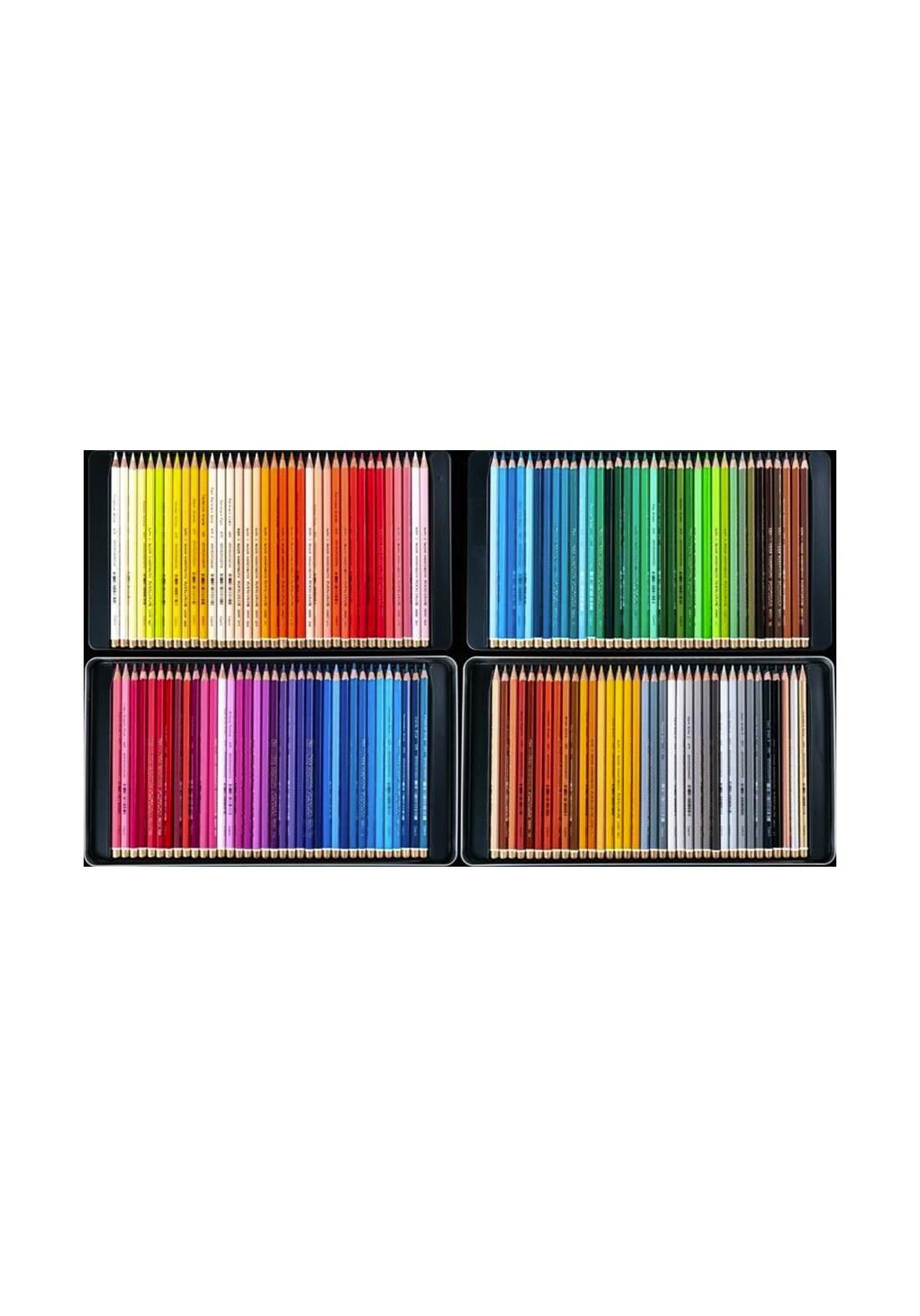 Koh-I-Noor  Polycolor Coloured Pencils 144 In 2 Metal Boxes سيت ألوان خشبية 144 لون