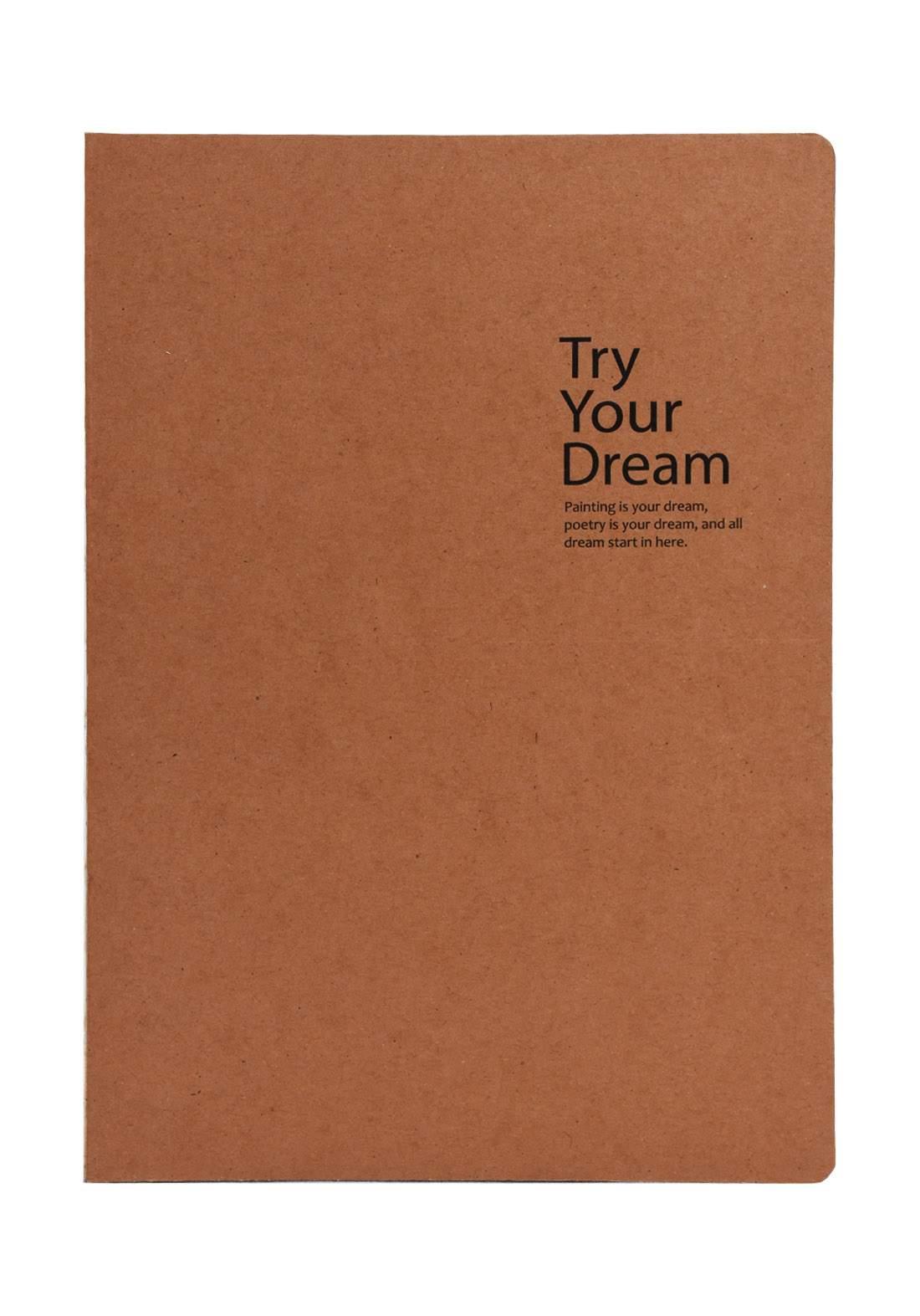 Try Your Dreams 112 Sheets دفتر ملاحظات 112ورقة