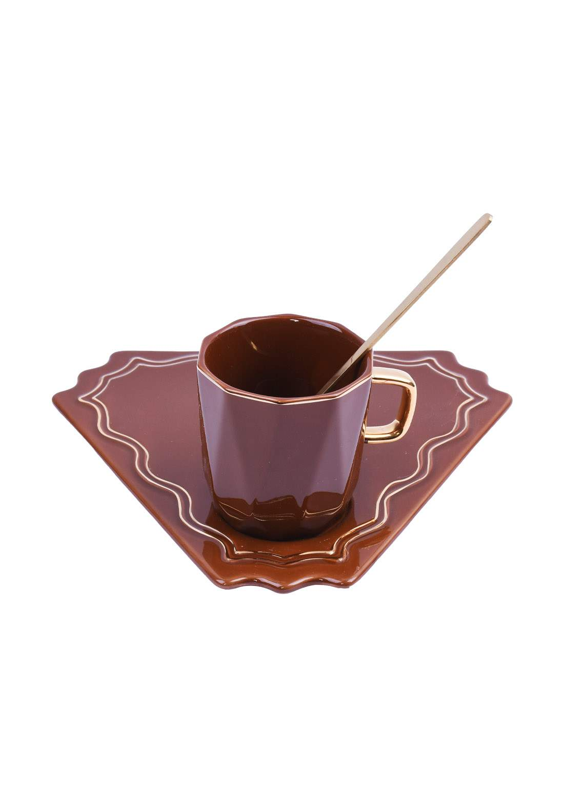 cup of coffee كوب قهوة بني اللون