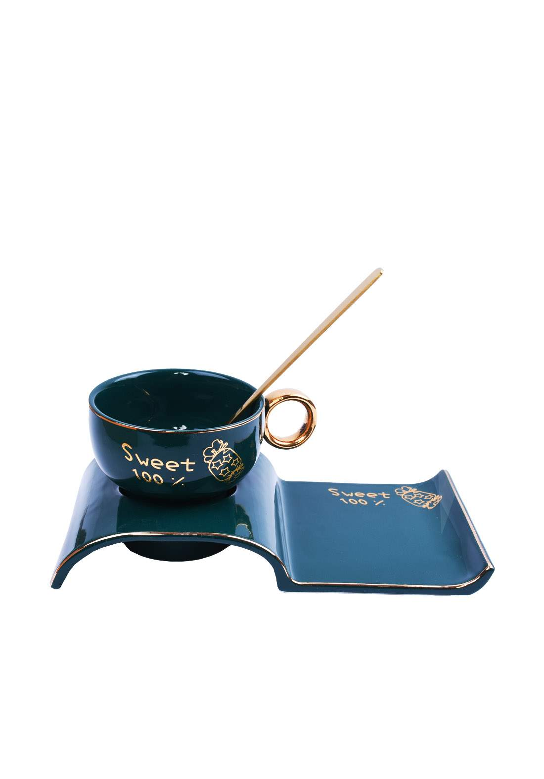 cup of coffee كوب قهوة اخضر اللون