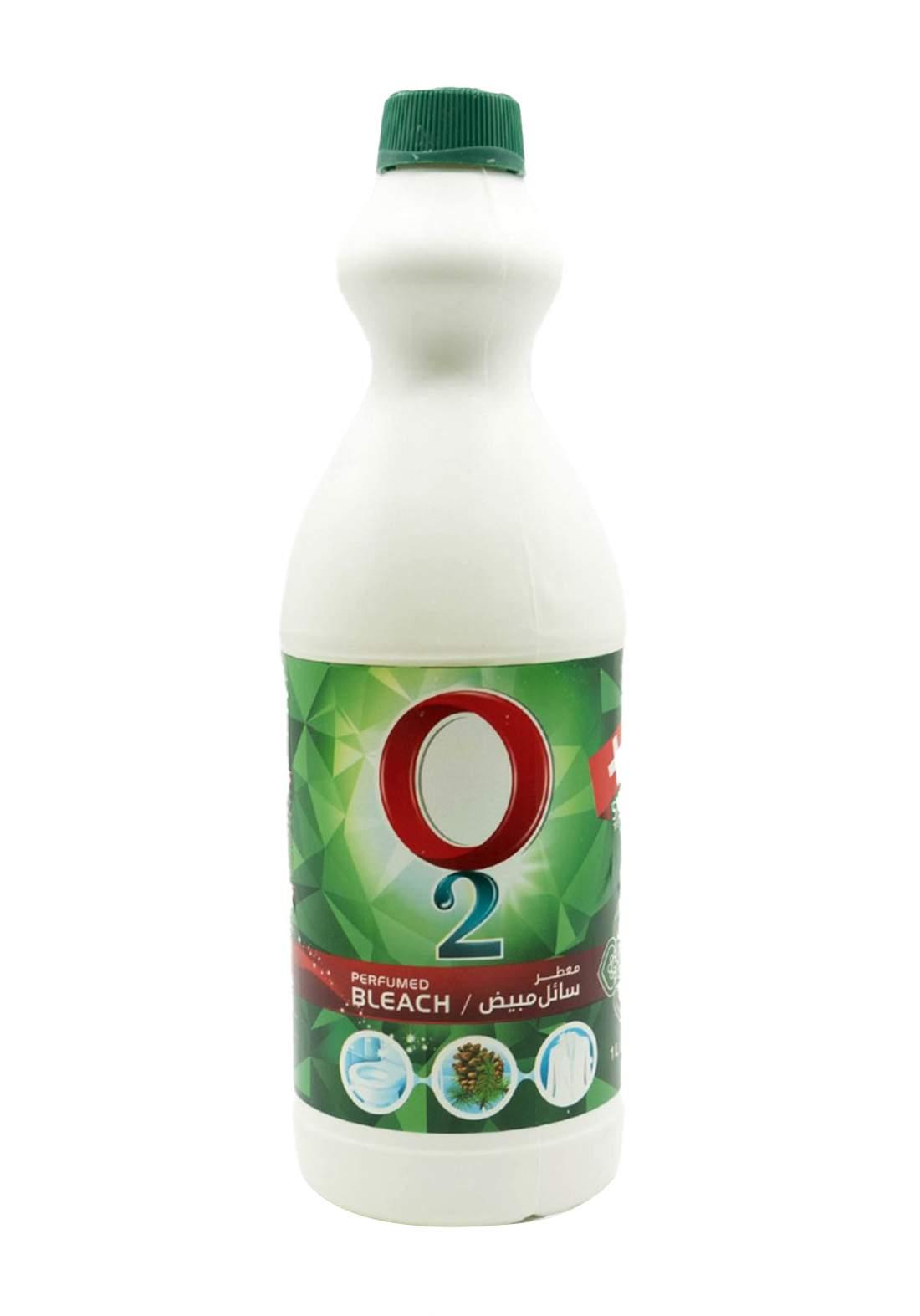 O2 Bleaching  Liquid 1L سائل مبيض