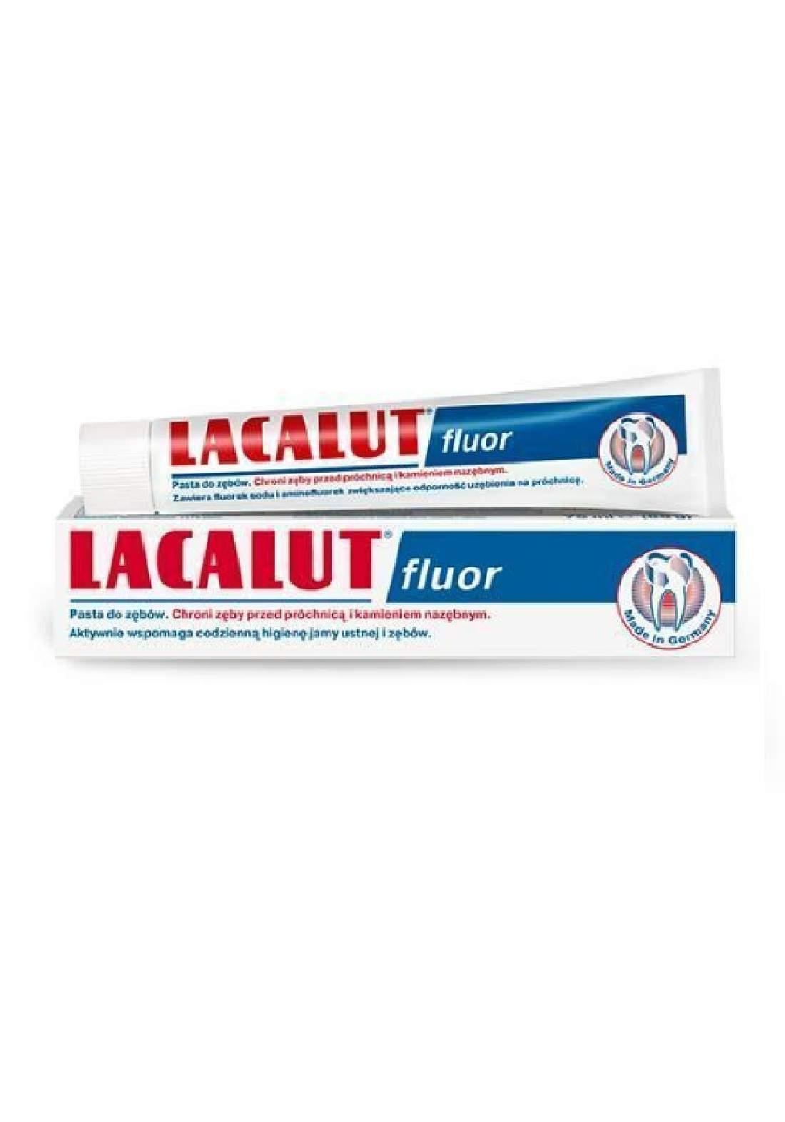 Lacalut Fluor Toothpaste 75ml معجون الأسنان