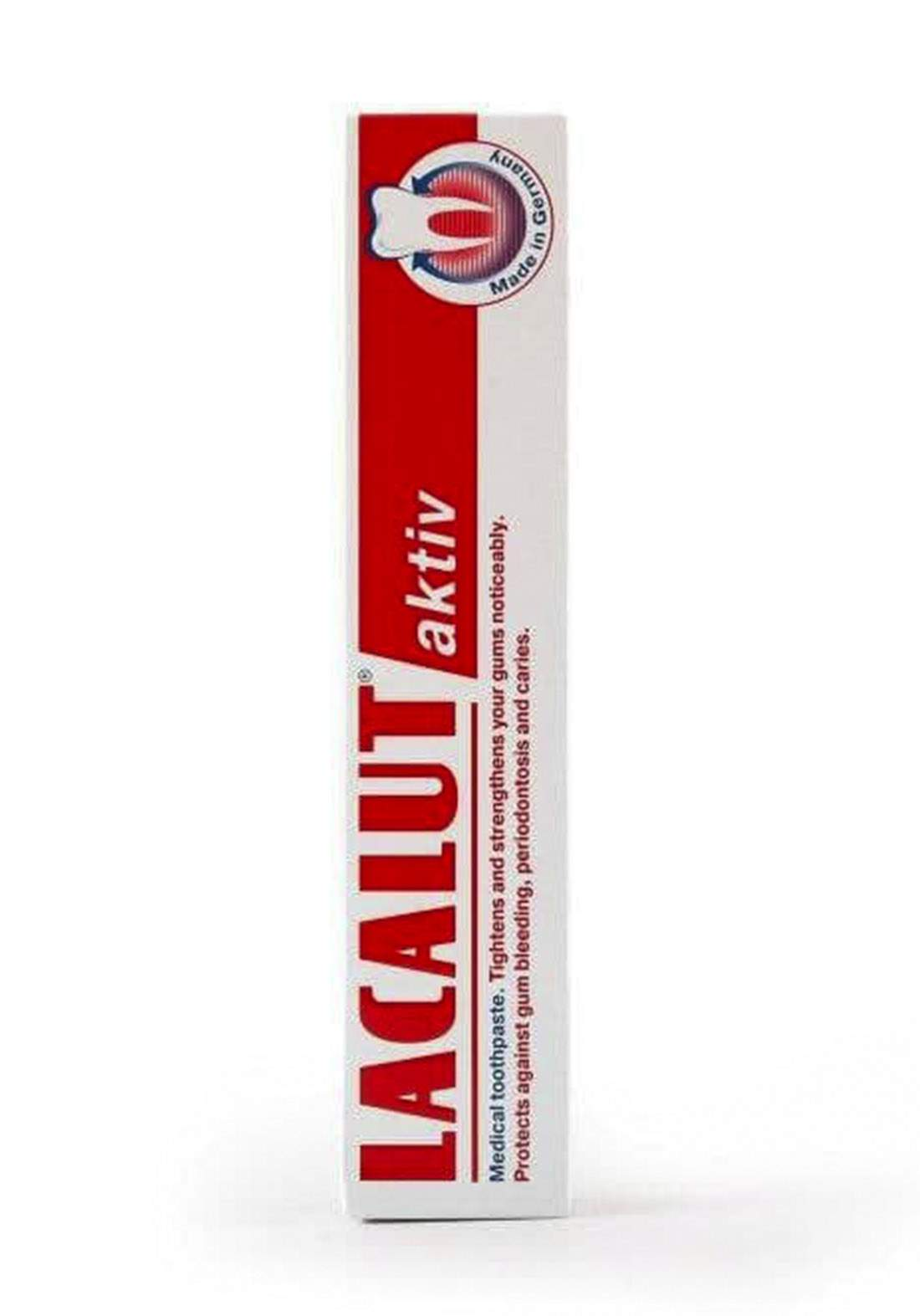 Lacalut Aktiv Toothpaste 75ml معجون الأسنان