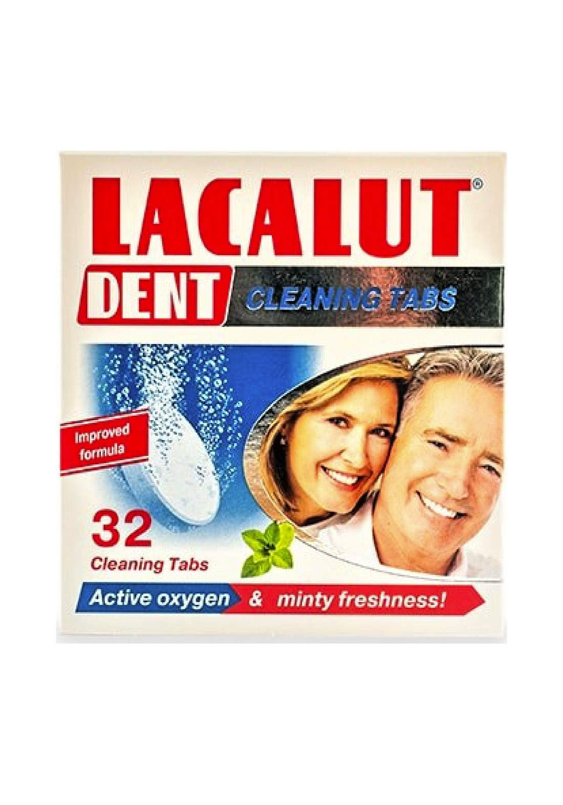 Lacalut Dent Cleansing Tabs 32 S أقراص تنظيف الاسنان