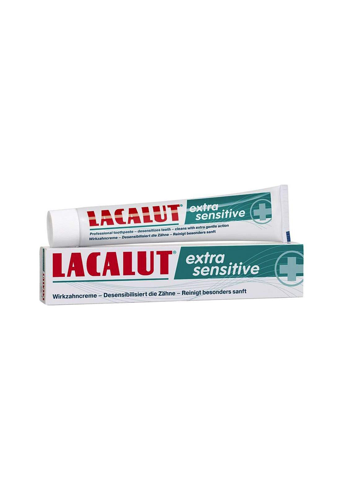 Lacalut Extra Sensitive Toothpaste 75ml معجون اسنان