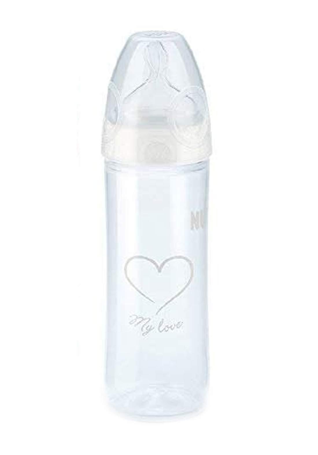 Nuk First Choice  PP Bottle New Classic 250ml  6-18  months رضاعة أطفال