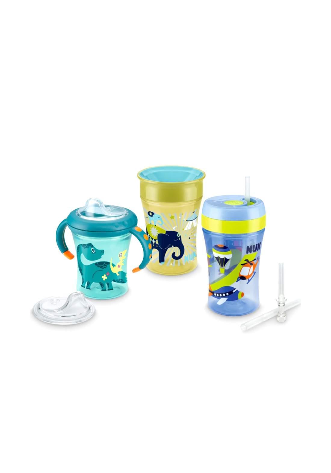 Nuk Learn to drink Set سيت أكواب للأطفال