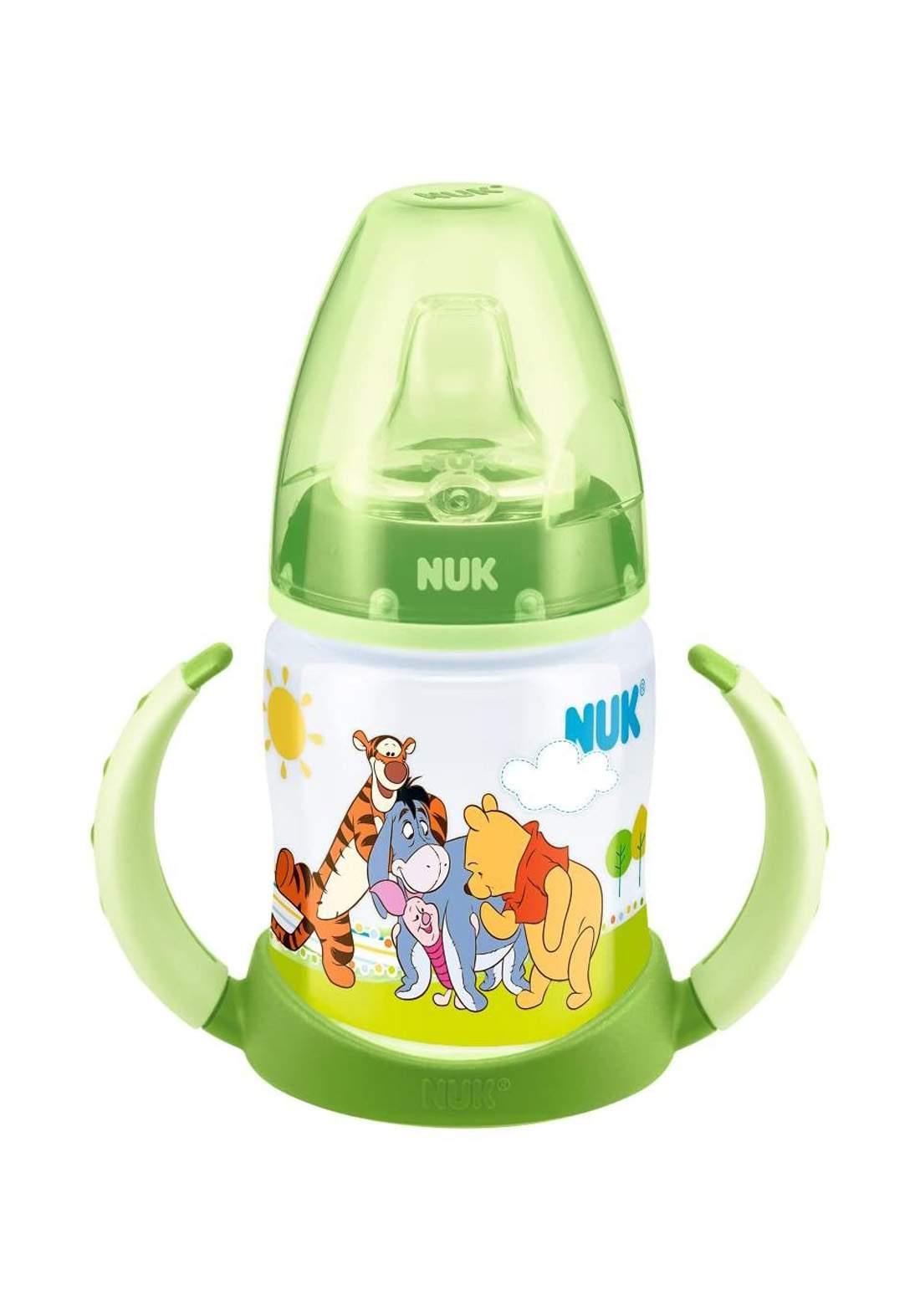Nuk First Choice PP Learner Bottle Winnie the Pooh 150ml (6-18 months) 150ml    رضاعة أطفال