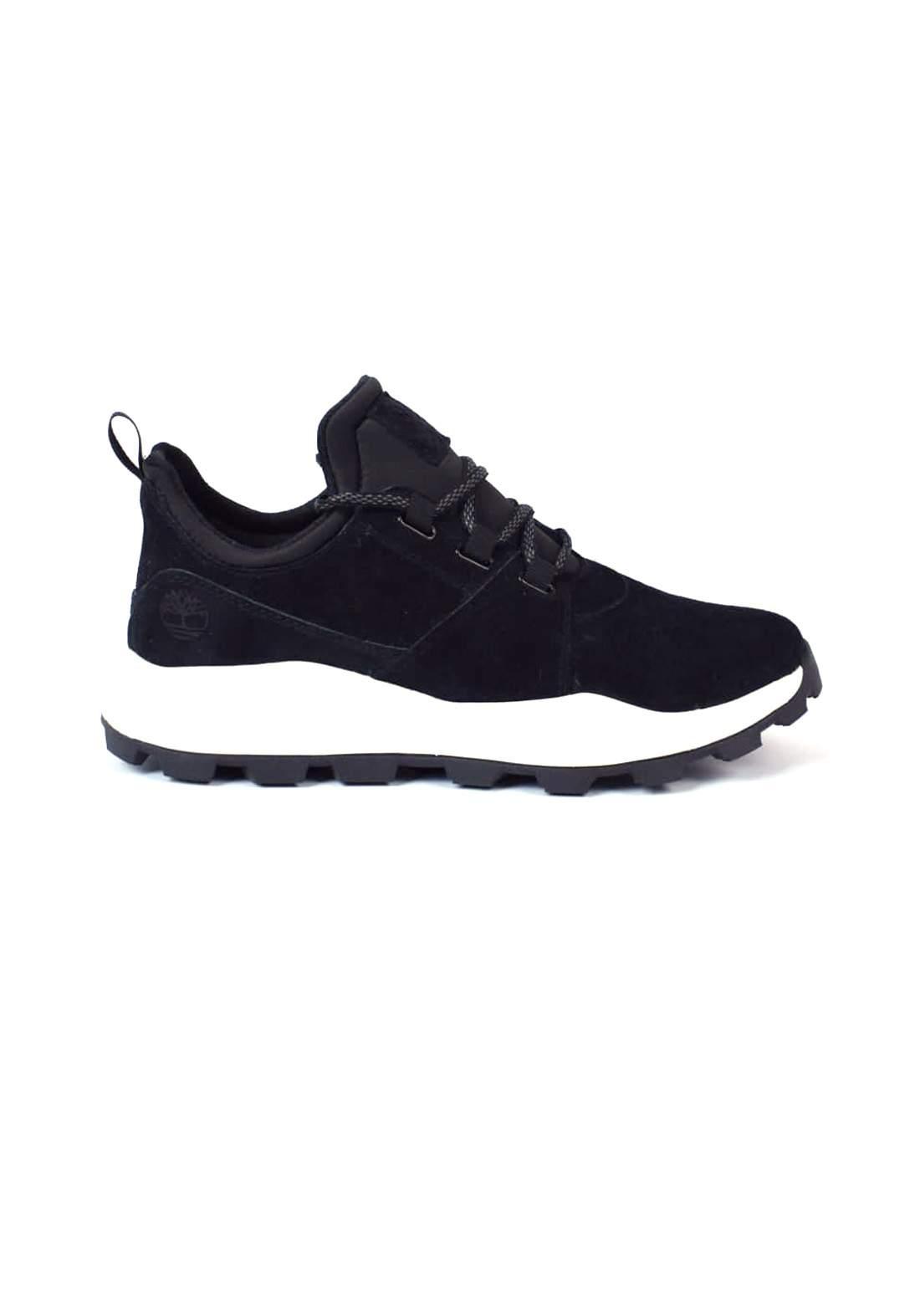 حذاء رياضي اسود اللون من Timberland