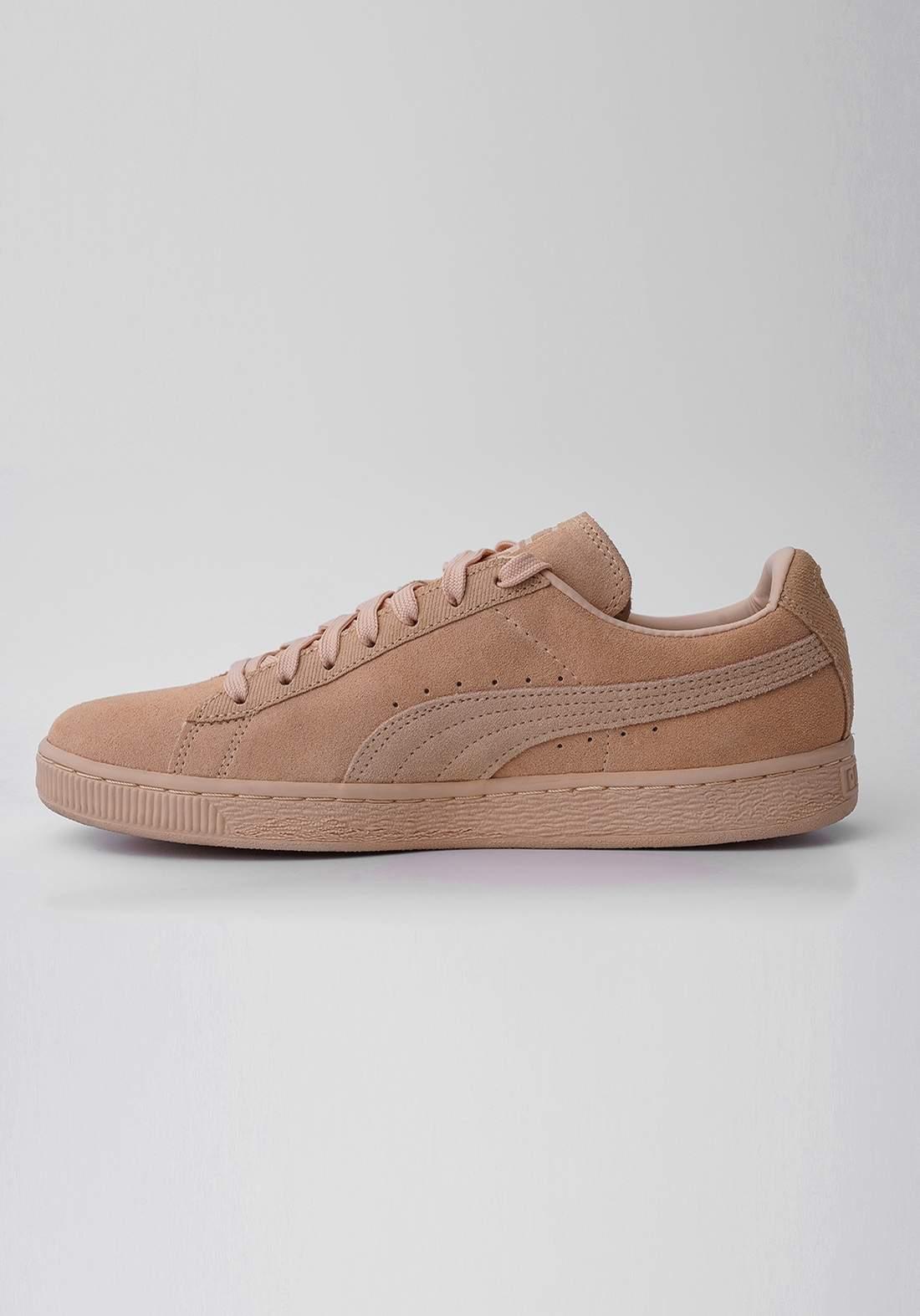 حذاء رجالي بيج اللون من Puma