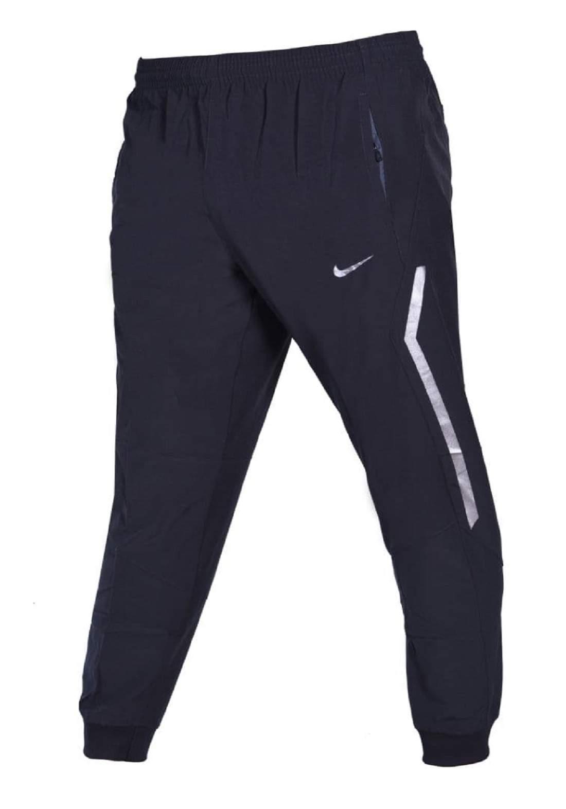 بنطلون بجامة رياضي رجالي نيلي اللون من Nike