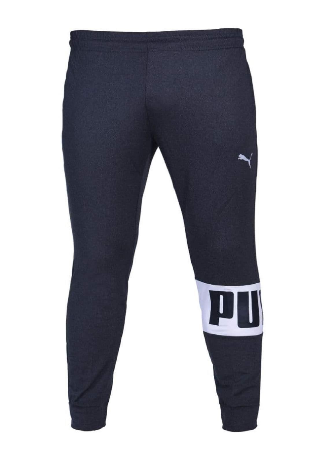 بنطلون بجامة رياضي رجالي نيلي اللون من Puma