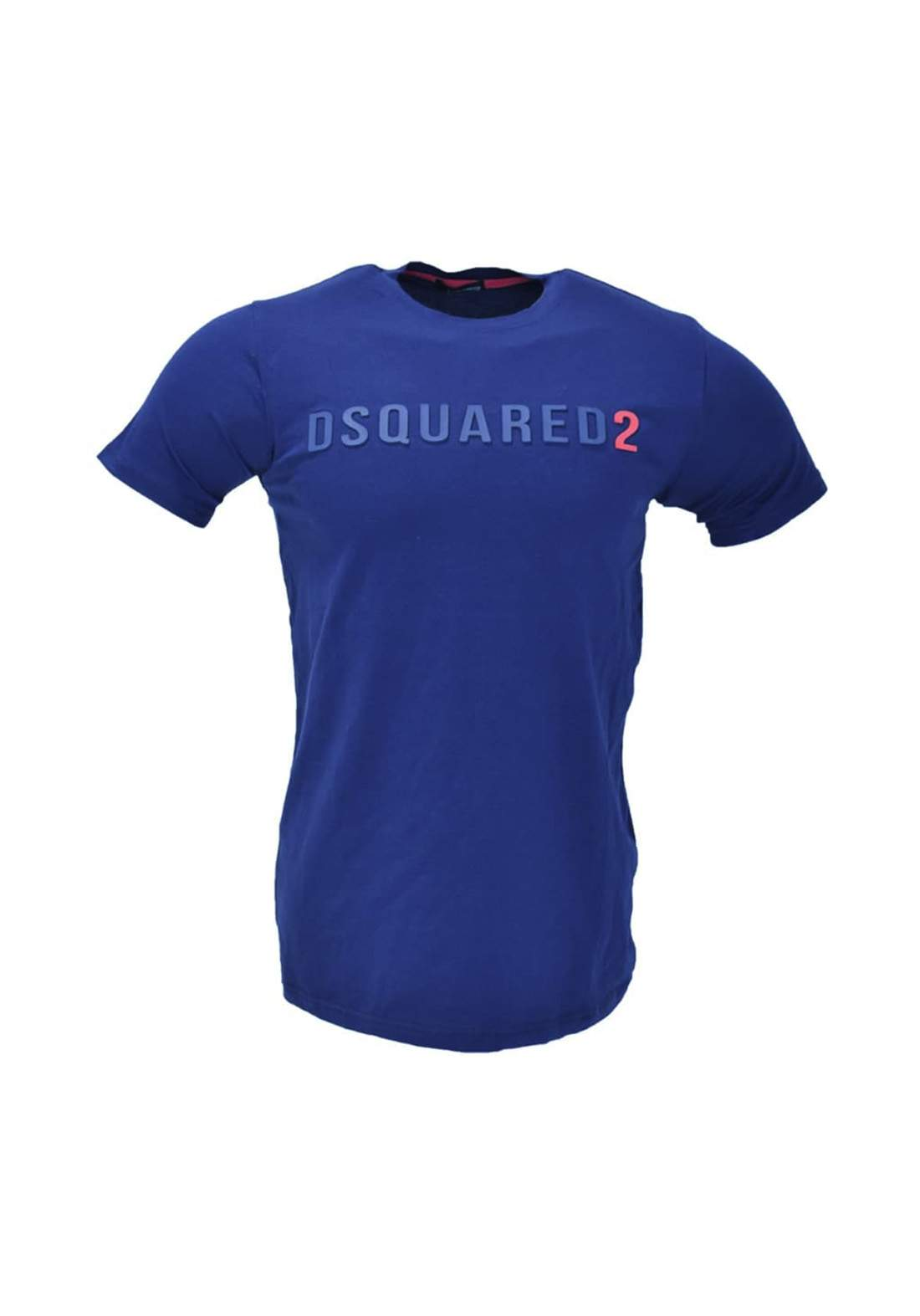 تيشيرت رجالي رياضي بنصف كم ازرق اللون من dsquared6