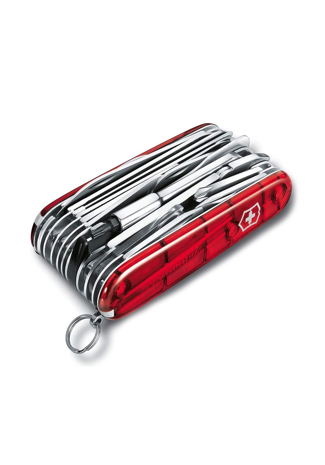Victorinox 16795xlt Pocket Knife سكين جيب بلون احمر