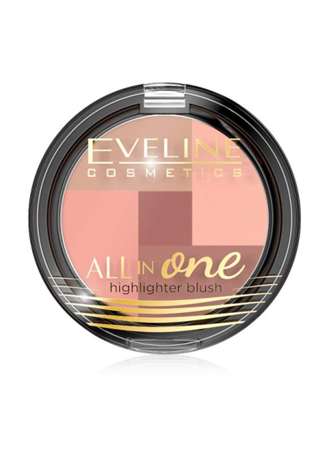 (095-0476)Eveline All In One Highlighter Blush No.01 أحمر خدود