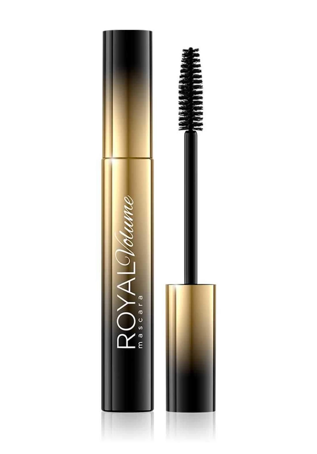 (095-0817)Eveline Cosmetics Mascara Royal Volume 10ml مسكارا