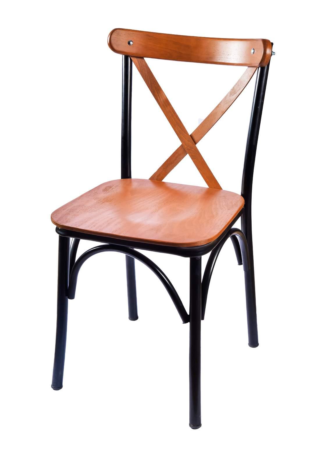كرسي خشب طبيعي من ايوانكو