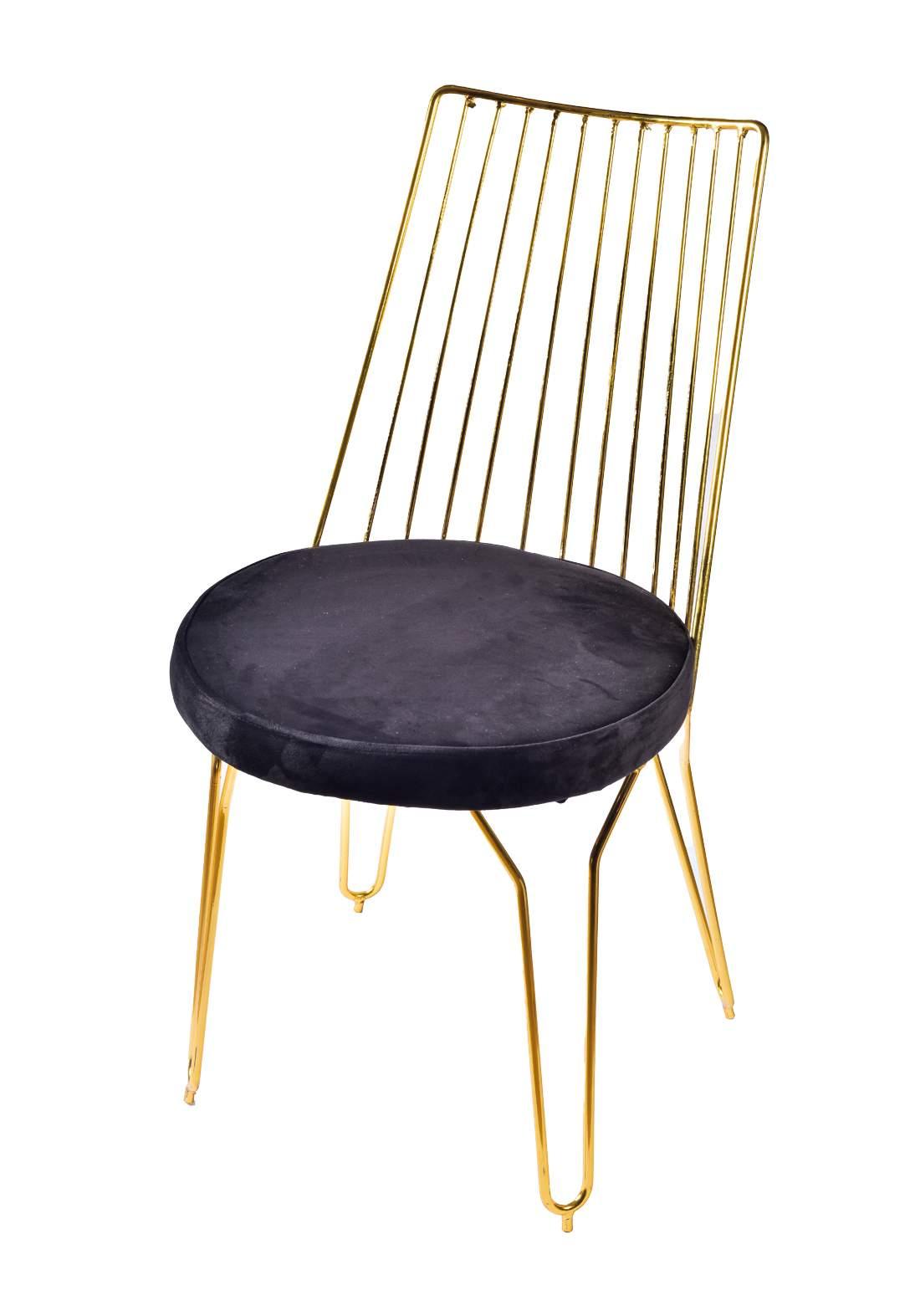 كرسي ستيل ذهبي من ايوانكو