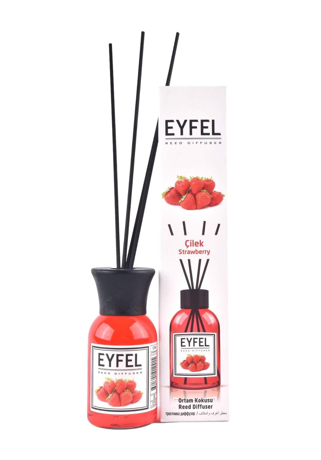 Eyfel Reed Diffuser Strawberry  معطر جو برائحة الفرولة