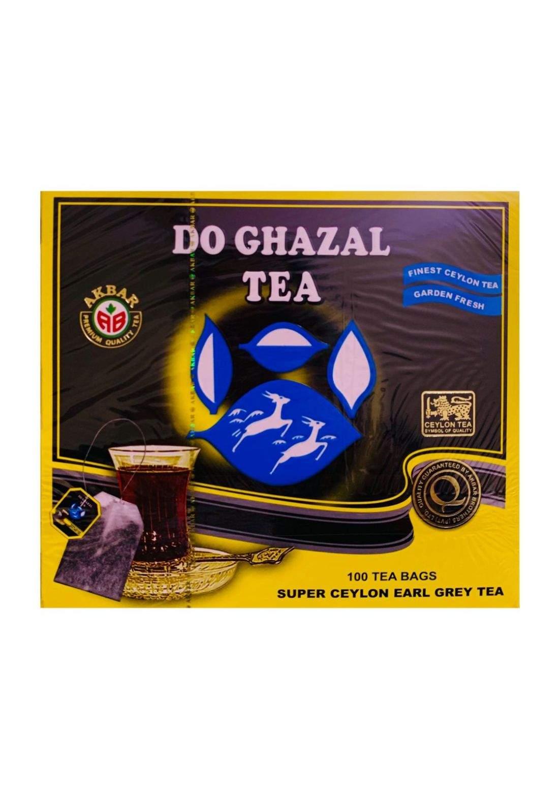 Do Ghazal Tea شاي الغزالين 100 ظرف