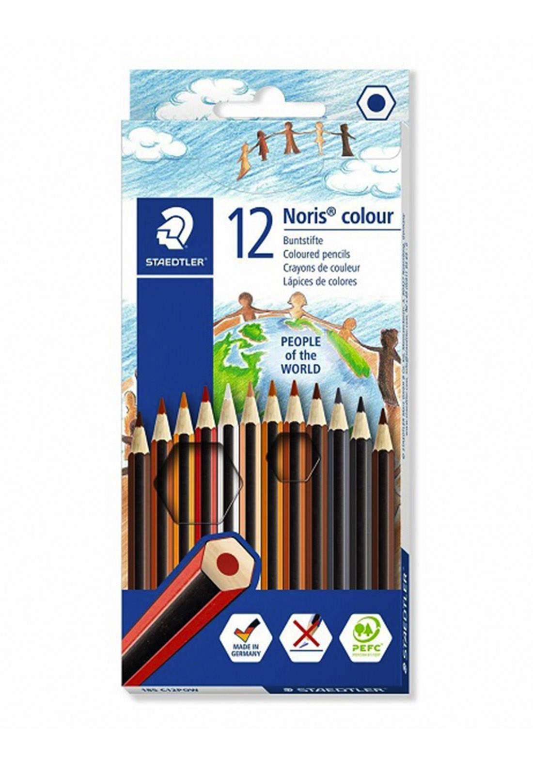 Staedtler 185 C12POW - 12Pcs أقلام رصاص ملونة