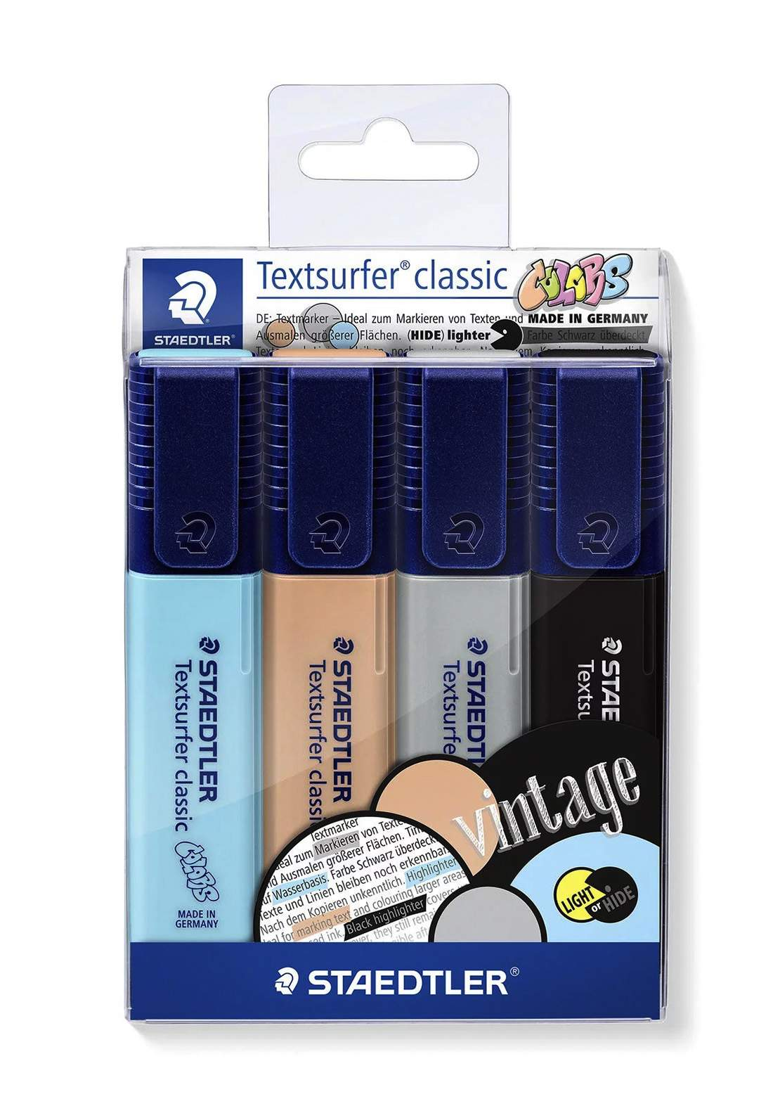 Staedtler 364CWP4 - 4 Pcs  أقلام تأشير