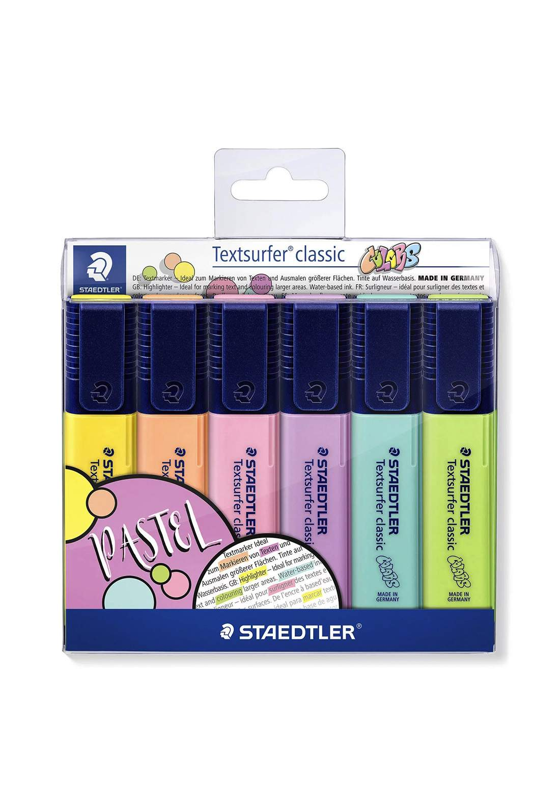 Staedtler 364CWP6 -6 Pcs  أقلام تأشير