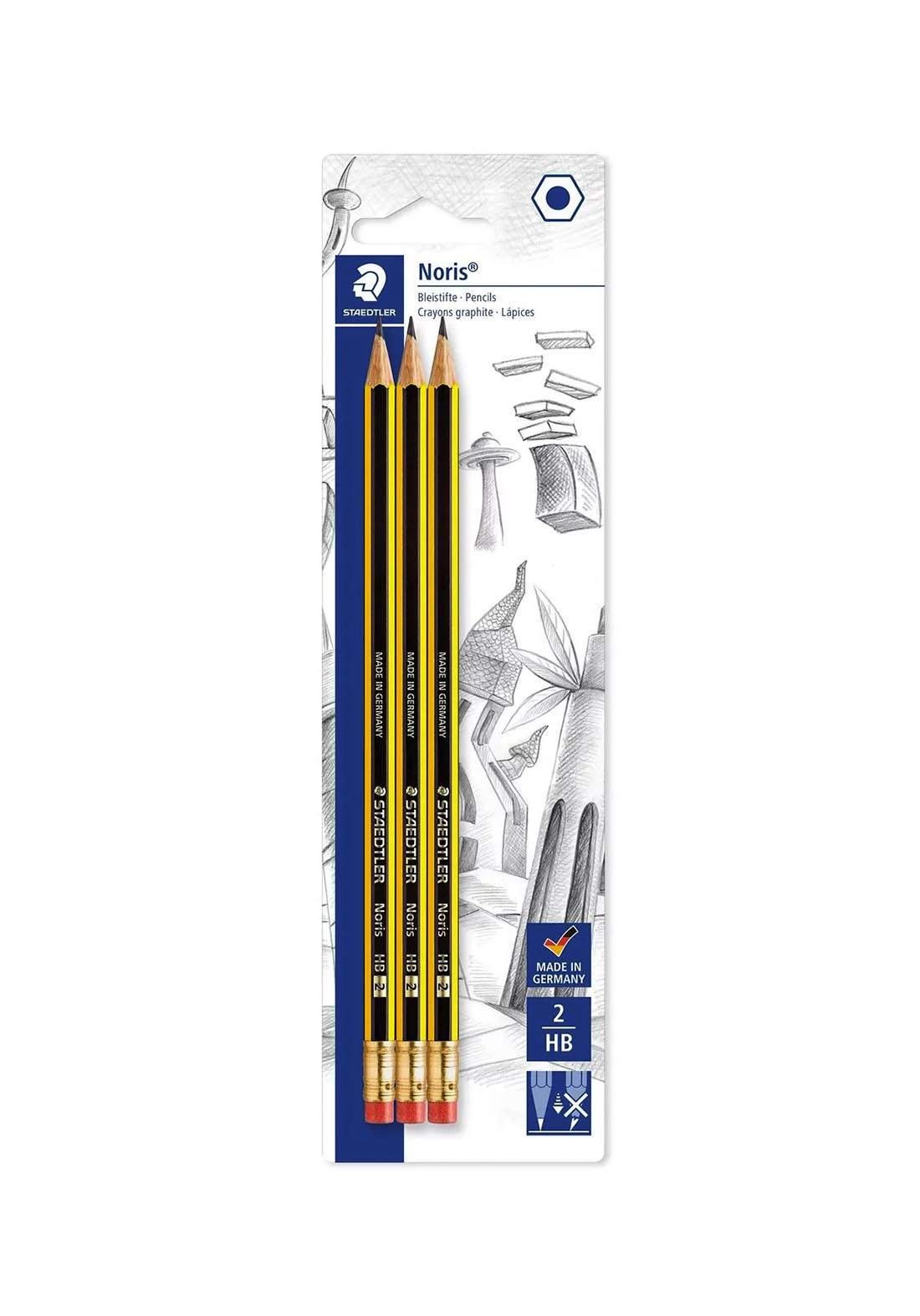 Staedtler 122-2BK3DA أقلام الرصاص
