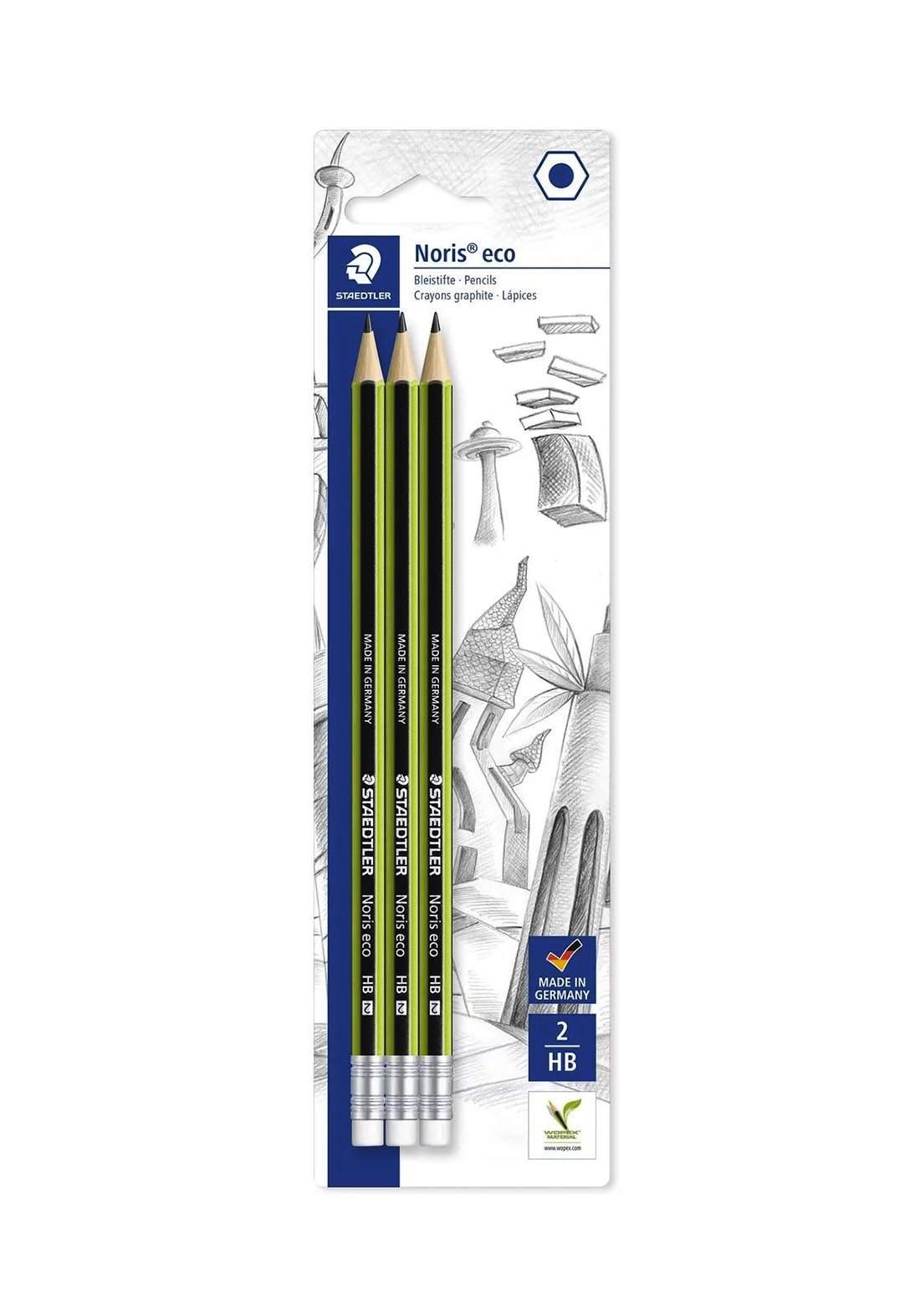 Staedtler  Eco 18230HBBK3 أقلام الرصاص