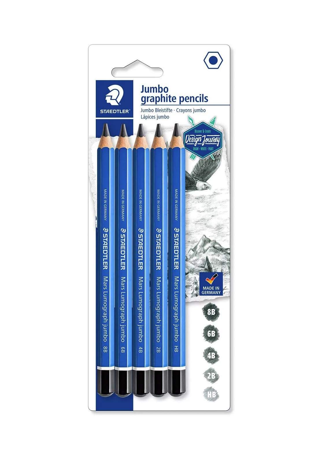 Staedtler Mars 100J-S BK5  أقلام الرسم
