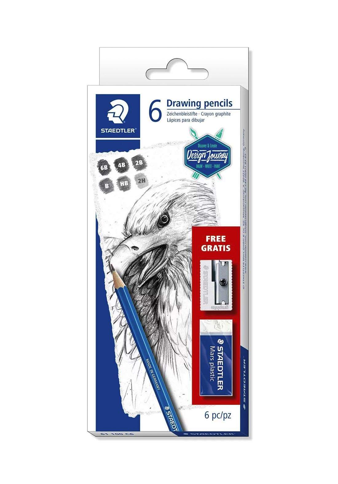 Staedtler 61 100 C6  أقلام الرسم