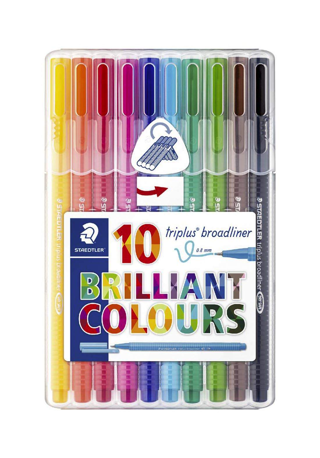 Staedtler 338SB10  أقلام كتابة ملونة