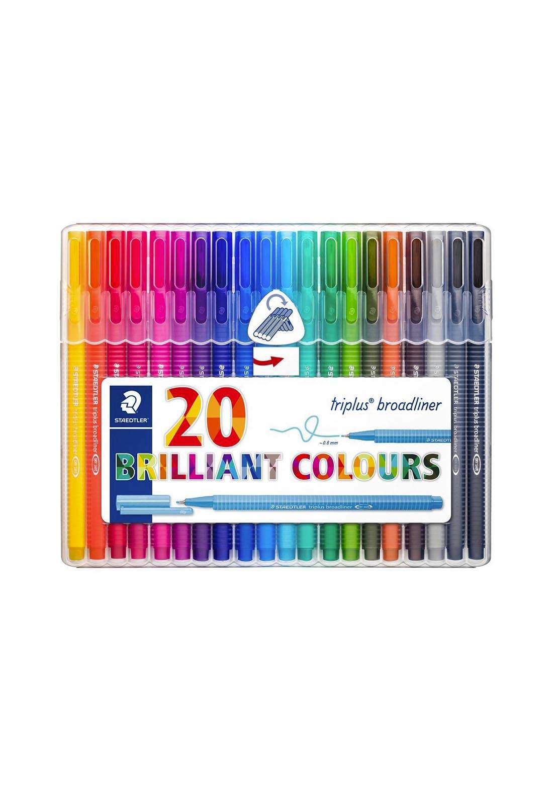 Staedtler 338SB20 أقلام كتابة ملونة