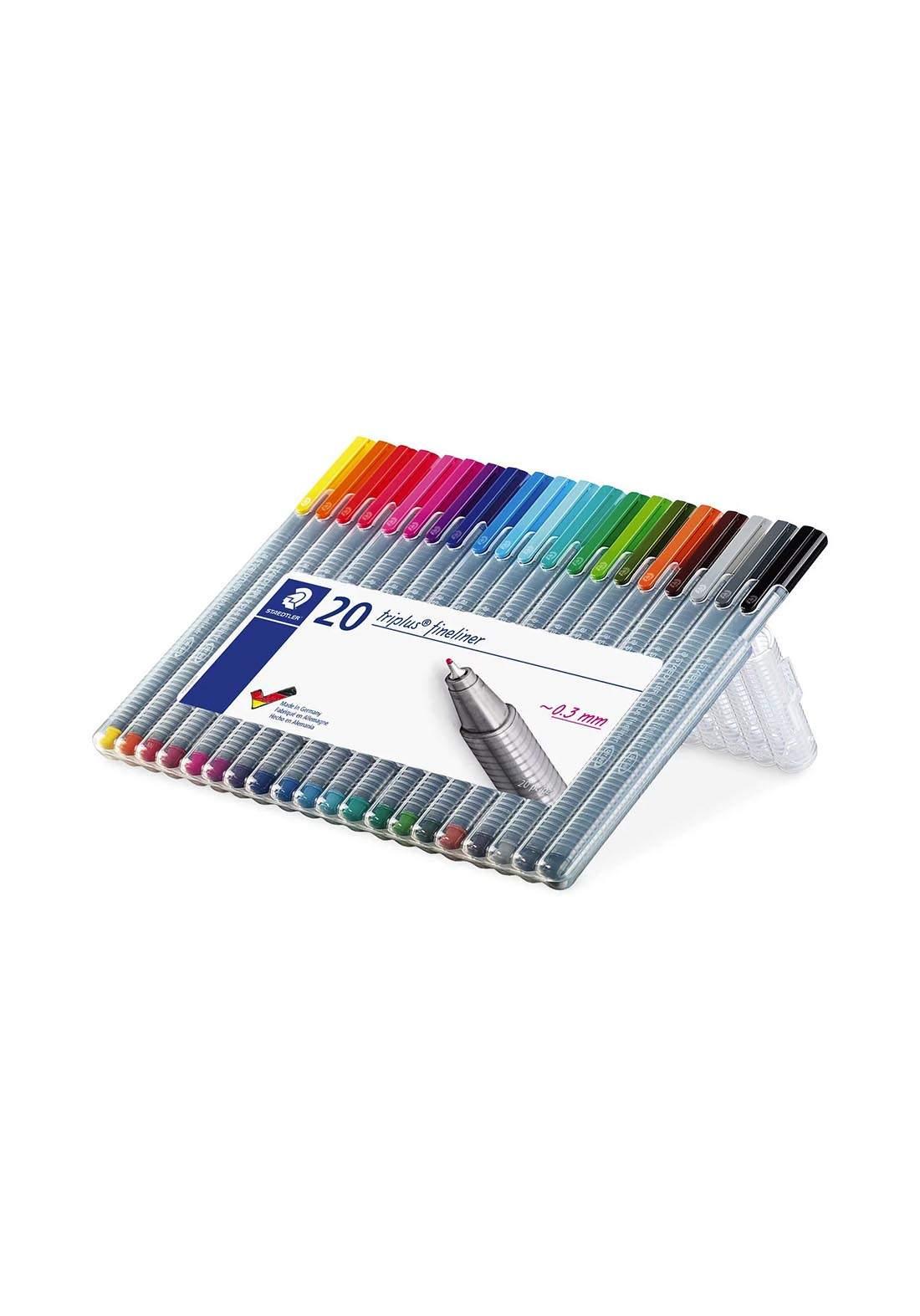 Staedtler Triplus 334 SB20  أقلام جاف