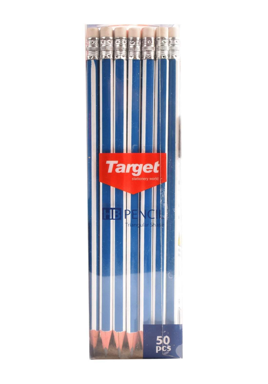 Target T-2948 سيت اقلام رصاص خشبية  50 قلم