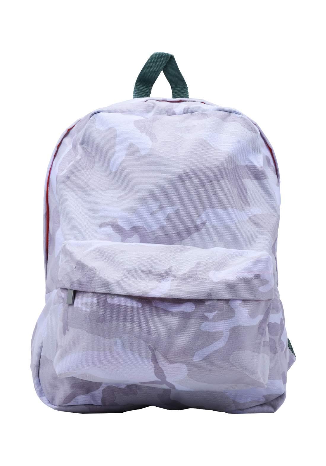 حقيبة ظهر أبيض أللون