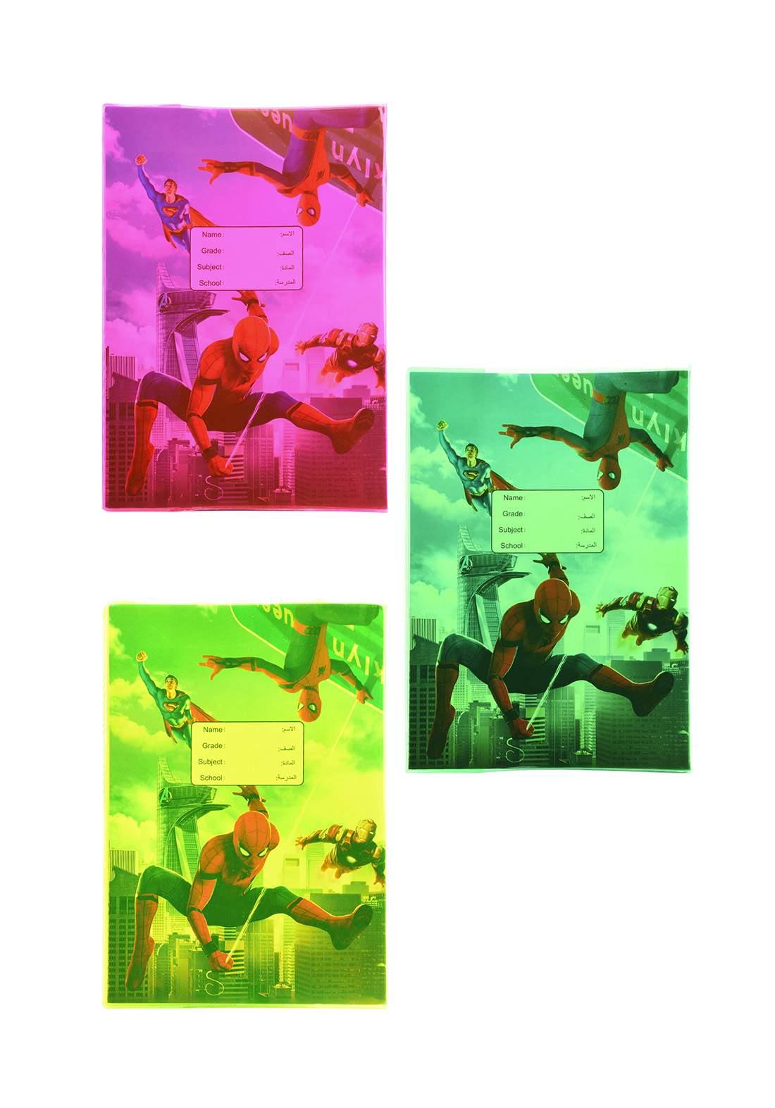 دفتر عربي 60 ورقة برسمة سبايدر مان  F-872