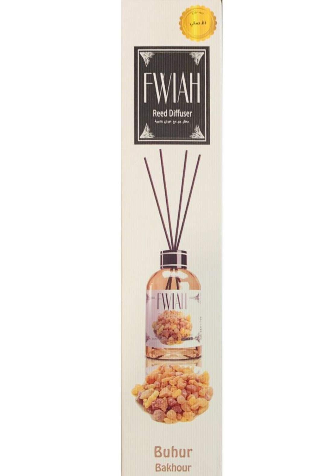 Fawah reed diffuser فواح معطر جو مع عيدان خشبية